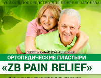 Ортопедические Пластыри ZB Pain Relief - Новоджерелиевская